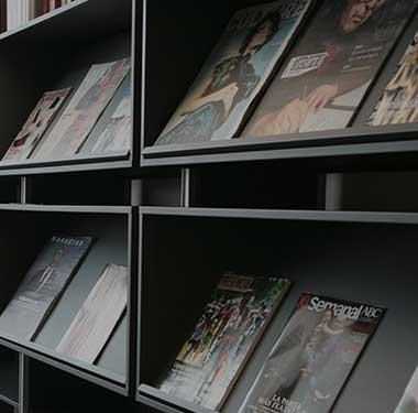 bibliotheque bureau concept